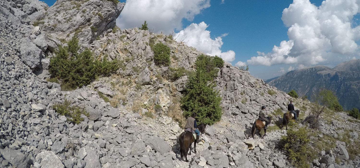 Photo from the Medieval Albanian Trails ride.