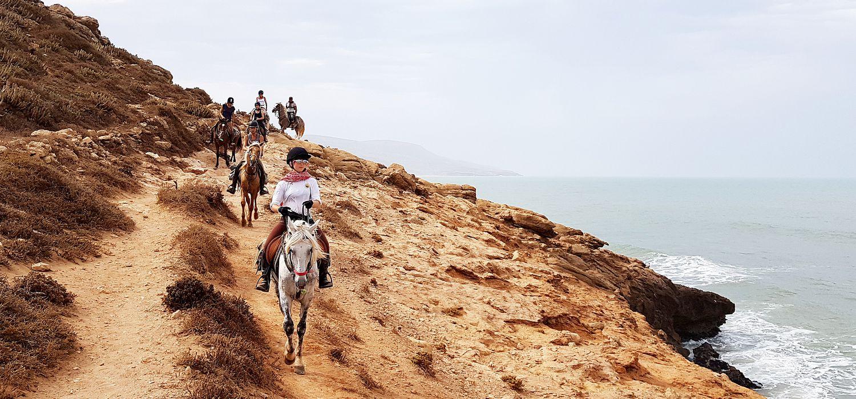 Photo from the Essaouira ride.