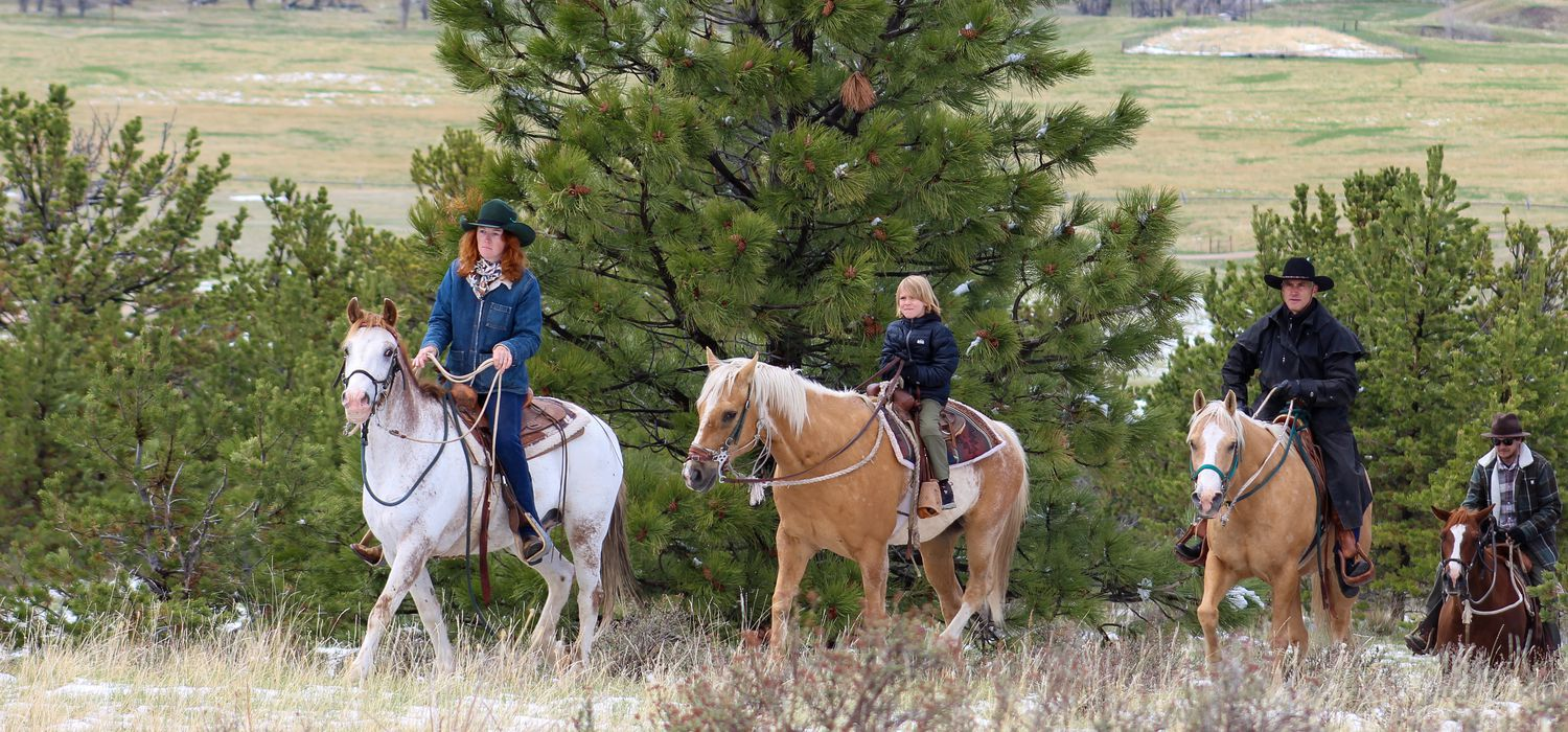 Photo from the Montana Mountain Ranch ride.