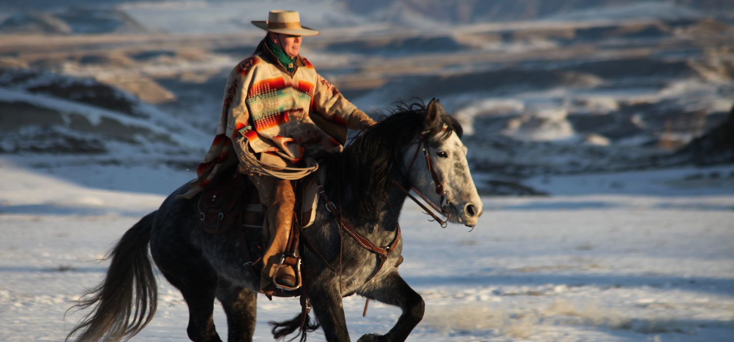 Photo from the Wyoming Lodge and Working Guest Ranch ride.