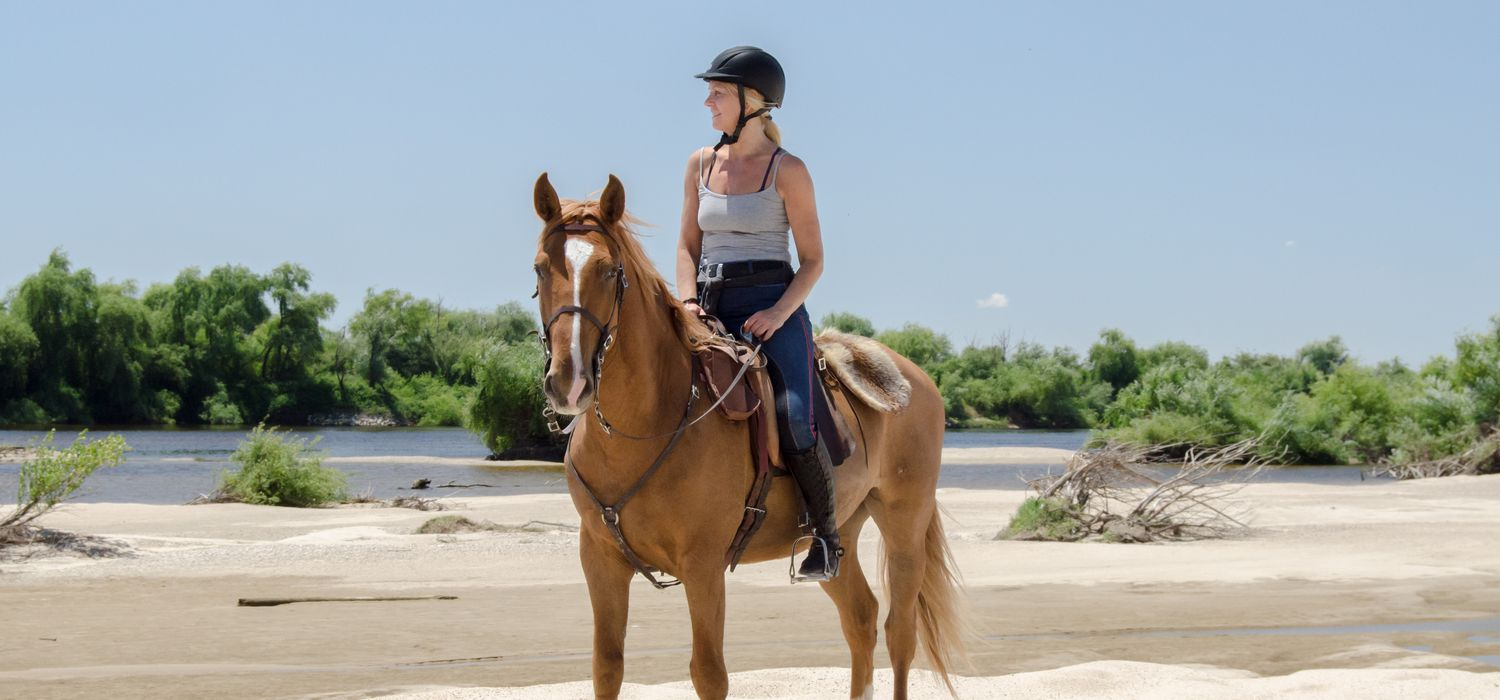 Photo from the Lusitano Trails ride.