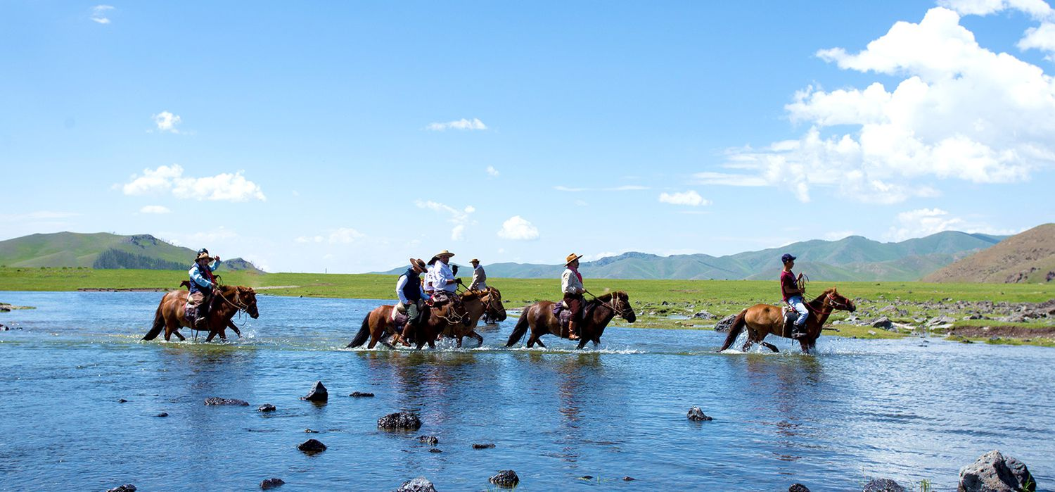 Photo from the Orkhon Valley Trails (Mongolia ) ride.