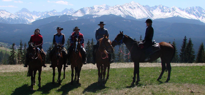 Photo from the Pieniny Farm Stay ride.