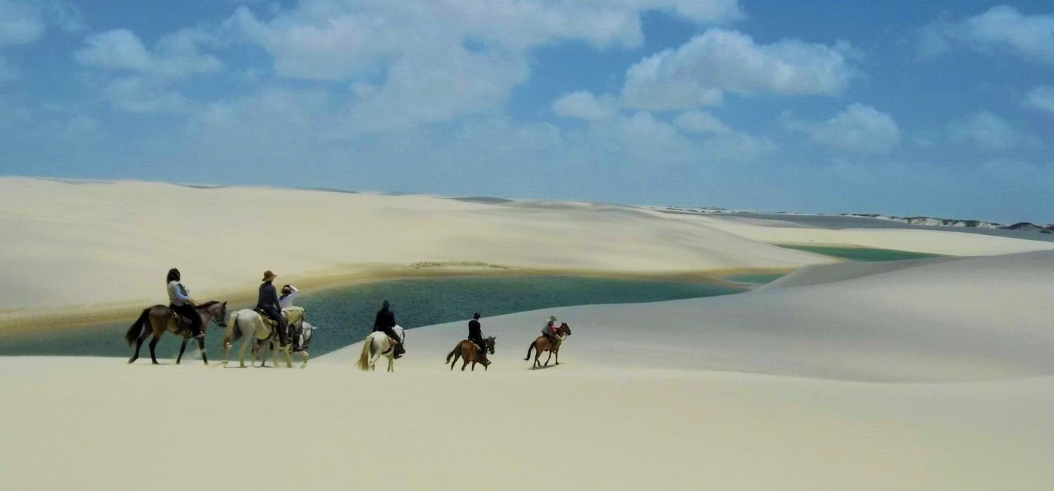 Photo from the Delta and Dunes (Brazil) ride.