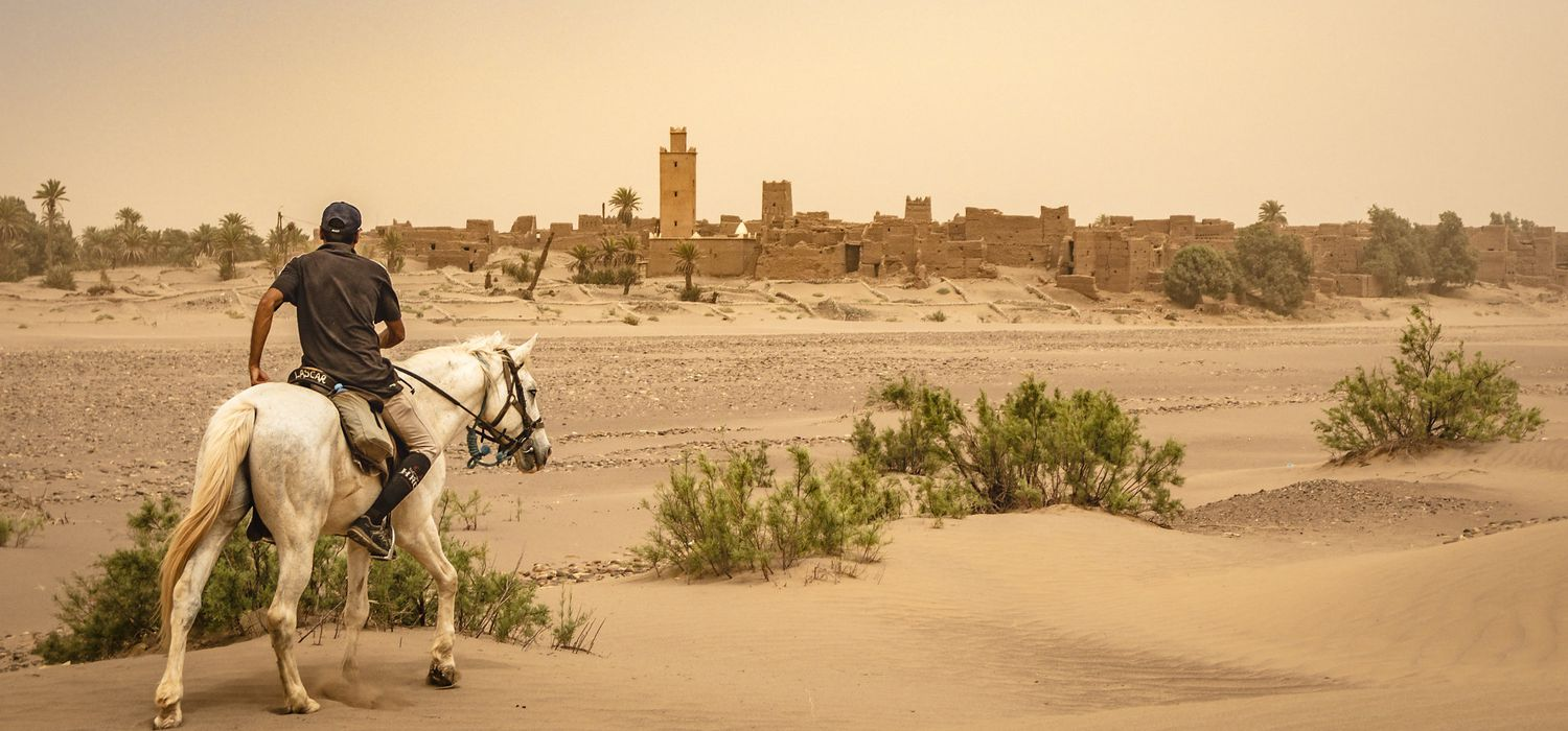 Photo from the Sahara Desert Trails ride.