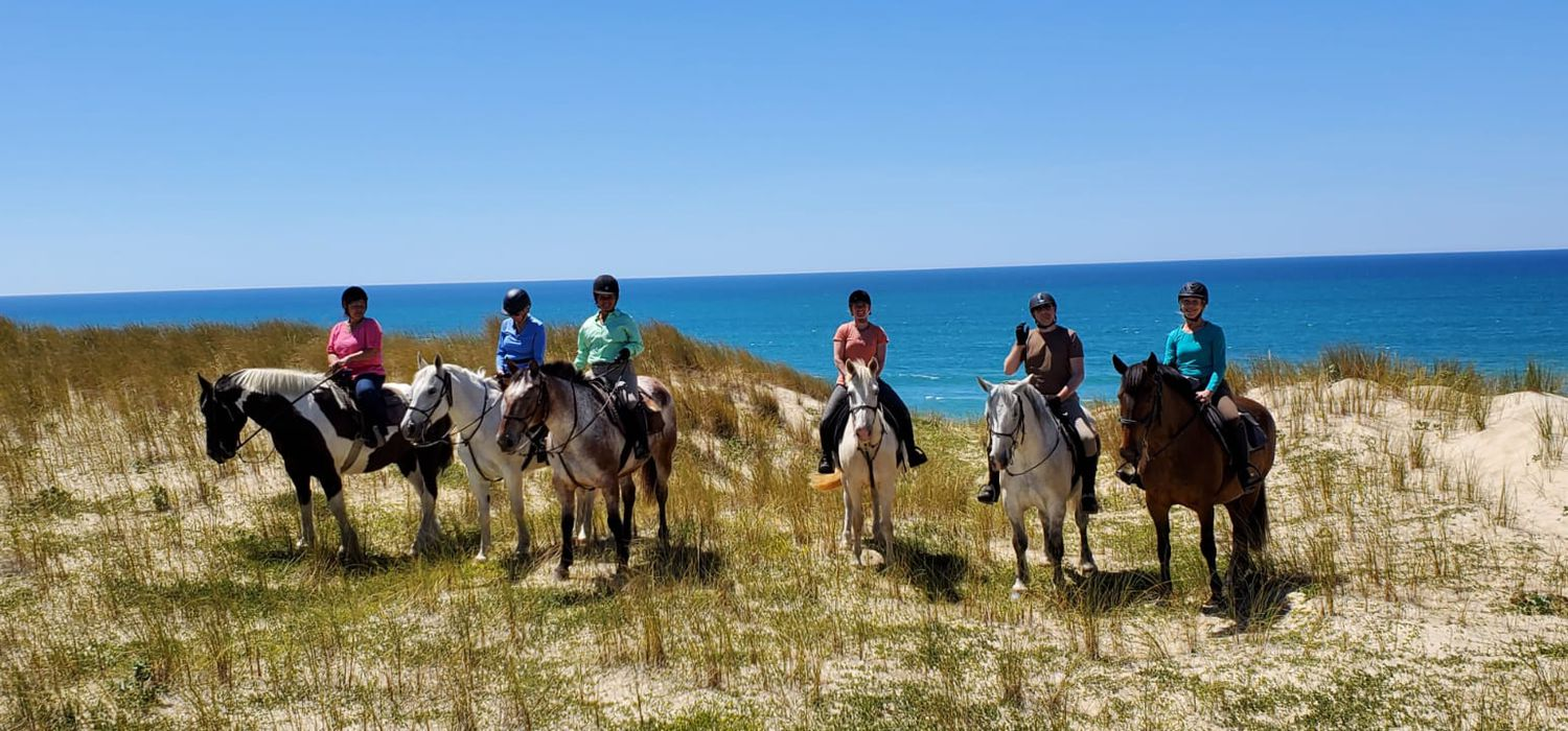 Photo from the Wines and Beaches of Bordeaux ride.