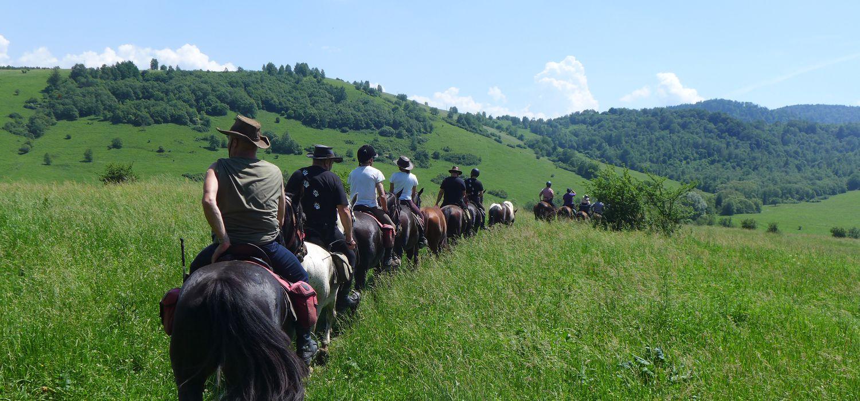 Photo from the Bieszczady Trails (Poland) ride.