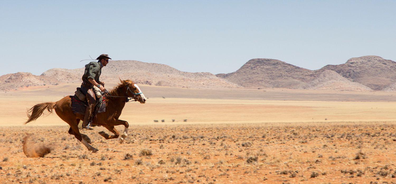 Photo from the Namibia Horse Safari Company ride.