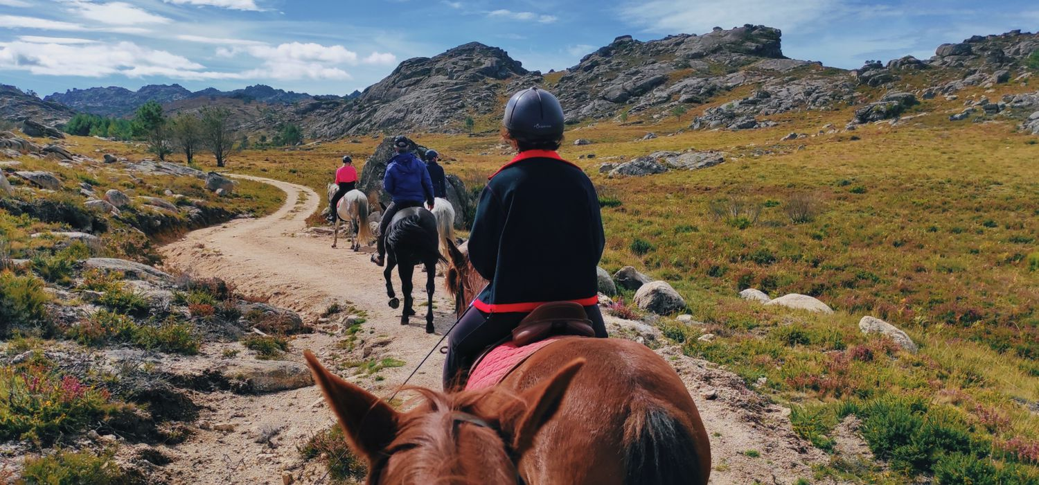 Photo from the Geres Wolf and Wild Horse Trails ride.