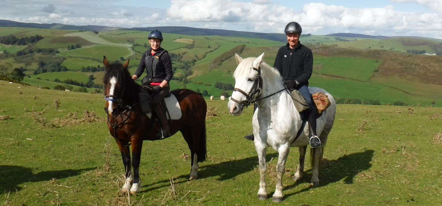 Photo from the Ceiriog Valley (Wales) ride.