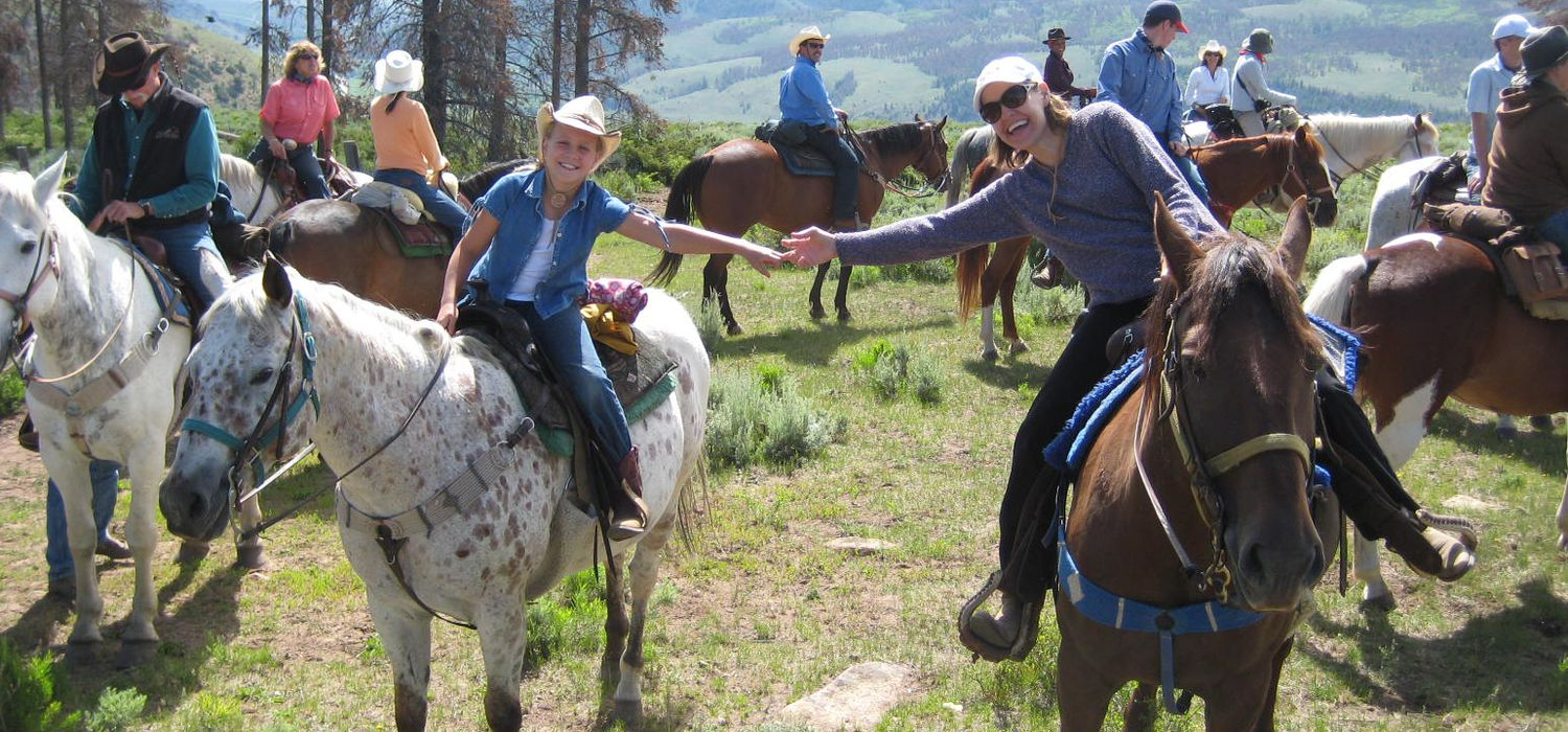 Photo from the Colorado Creek Ranch ride.