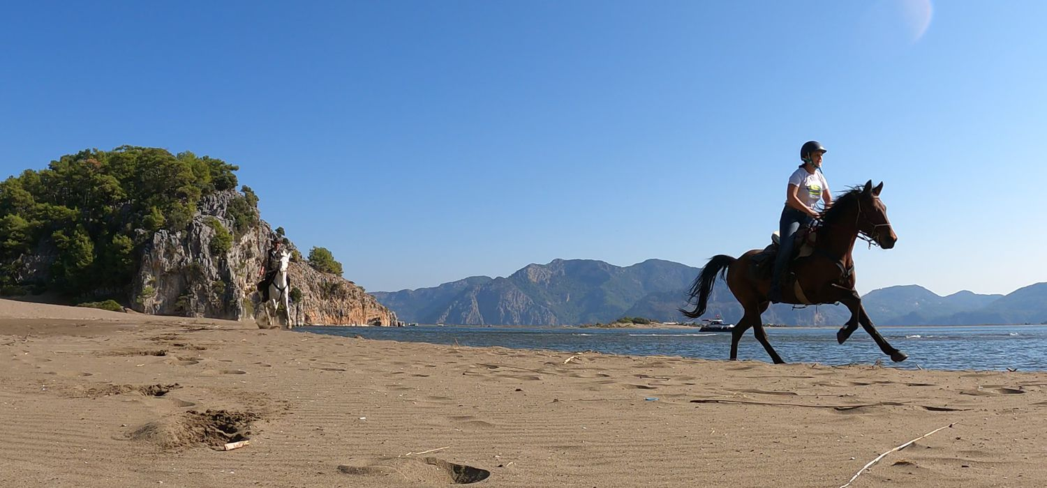 Photo from the Dalyan Coast ride.