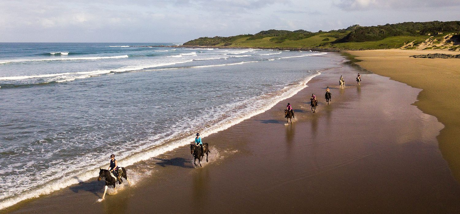 Photo from the Wild Coast Trails ride.