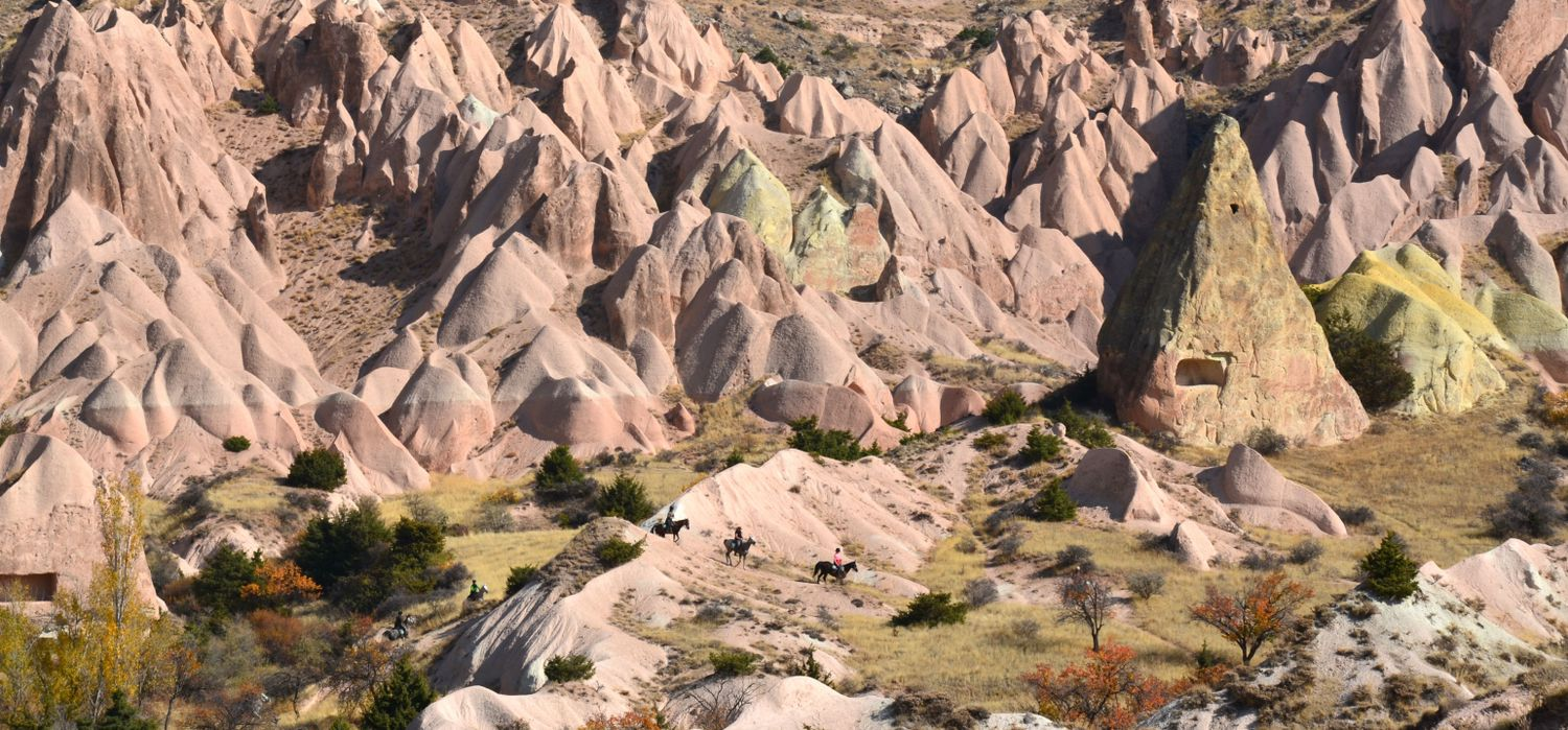 Photo from the Cappadocia Trails ride.