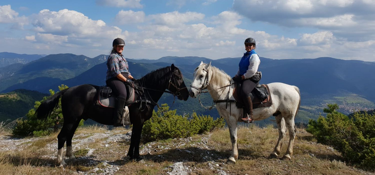 Photo from the Rhodope Mountain Trails ride.