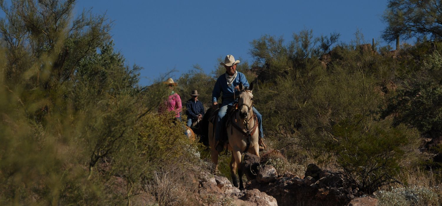 Photo from the White Stallion Ranch ride.