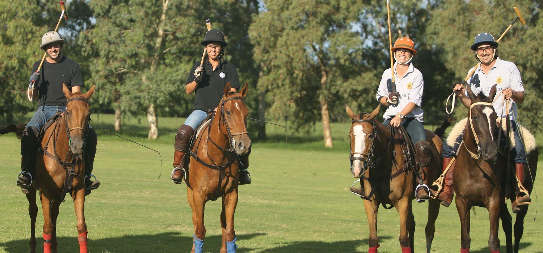 Photo from the El Venado Polo School ride.