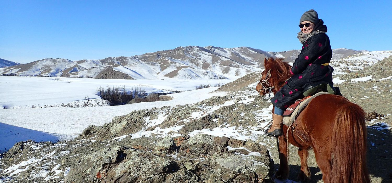 Photo from the Winter in Mongolia ride.
