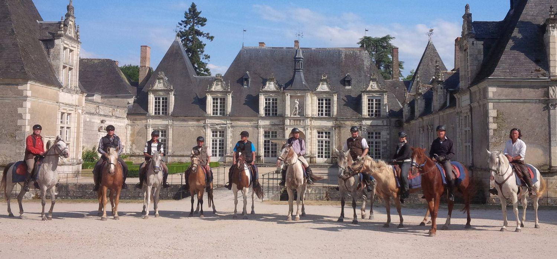 Photo from the Chateaux de la Loire ride.