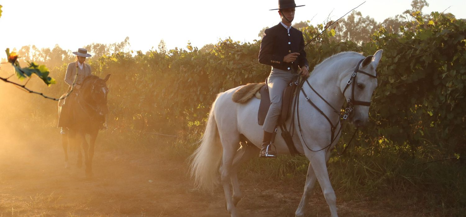 Photo from the Portugal Equestrian ride.