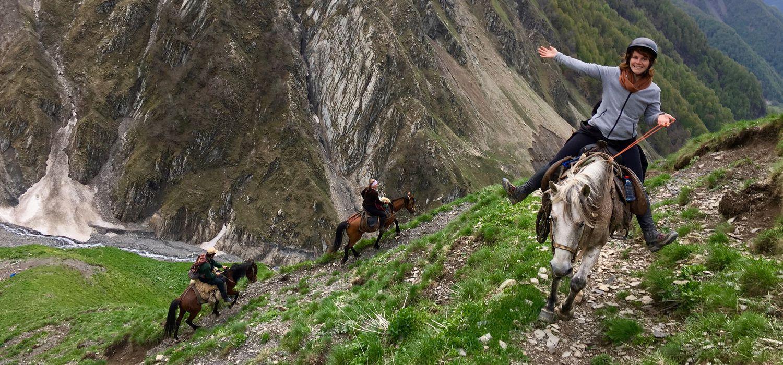 Photo from the Azerbaijan Adventure ride.