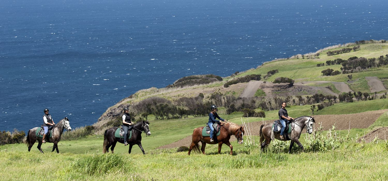 A view of the Azores - Faial Island Trails ride in Azores