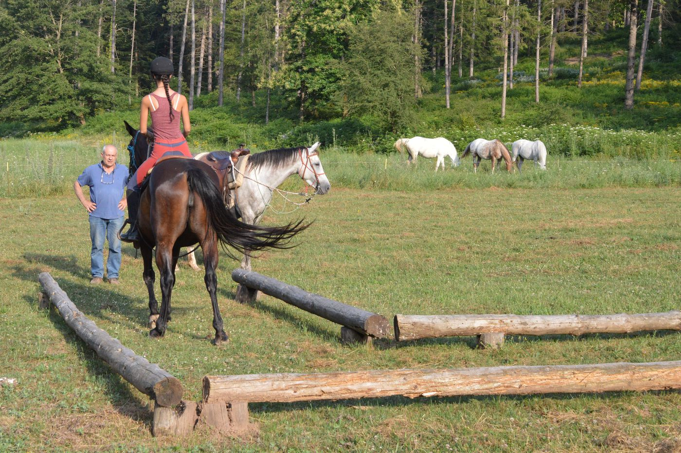 Western Riding Perfection Course itinerary.