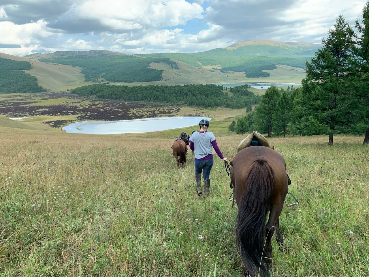 Orkhon Valley Camping Ride itinerary.