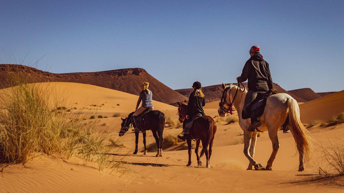 Horses, Dunes and Nomads itinerary.
