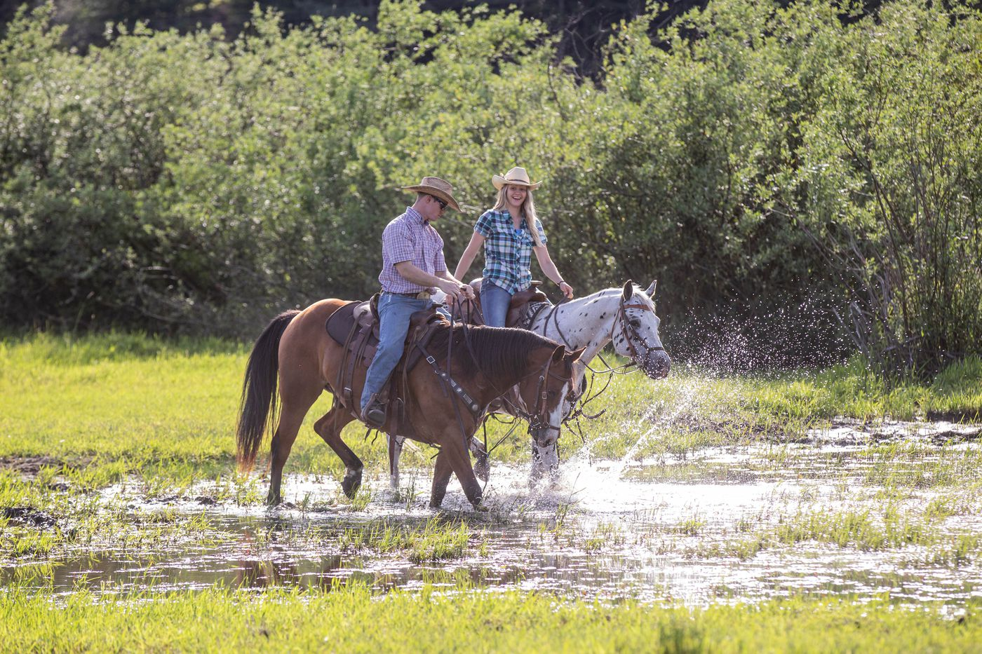 Summer Ranch Stay itinerary.