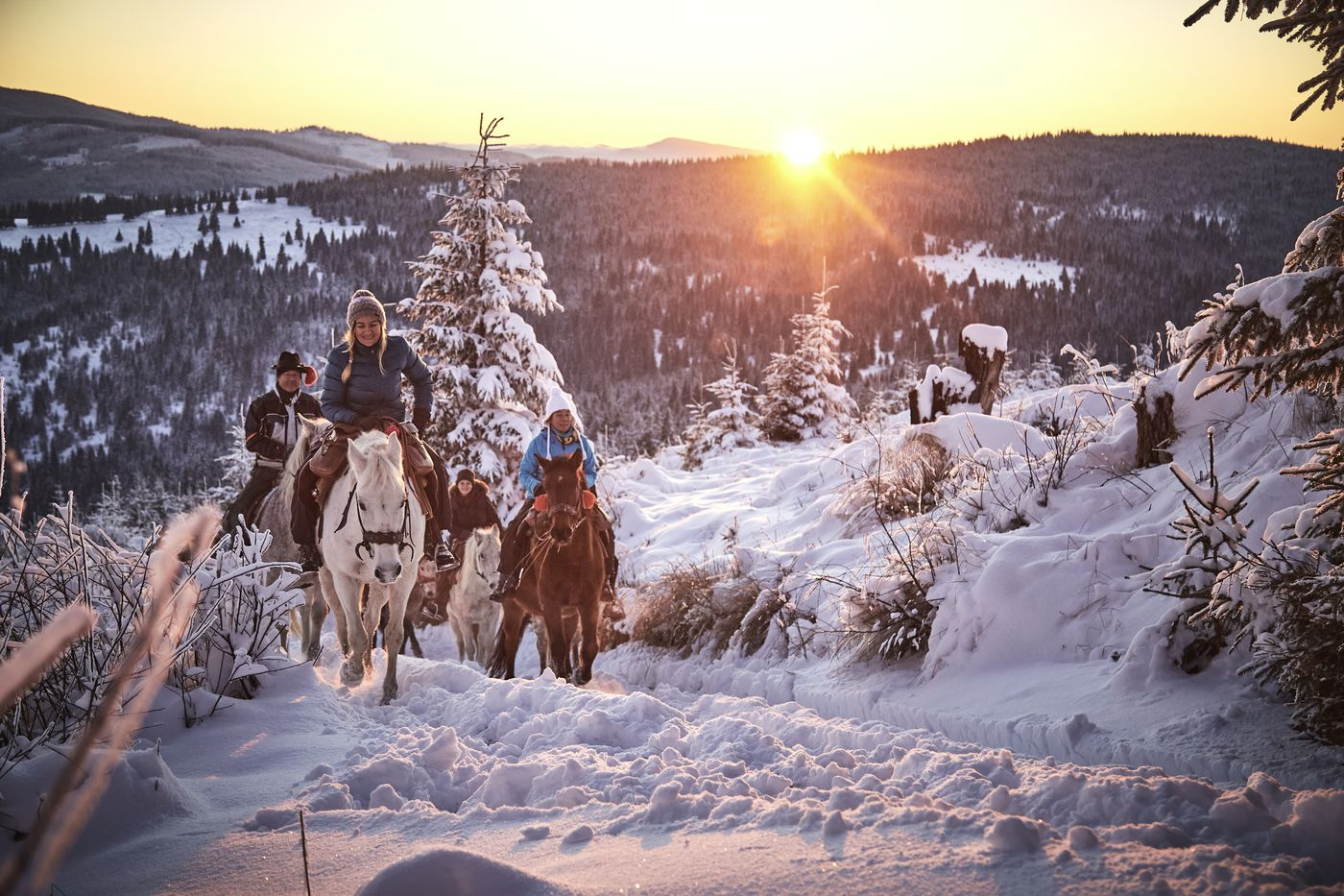 Winter Wonderland Ride itinerary.