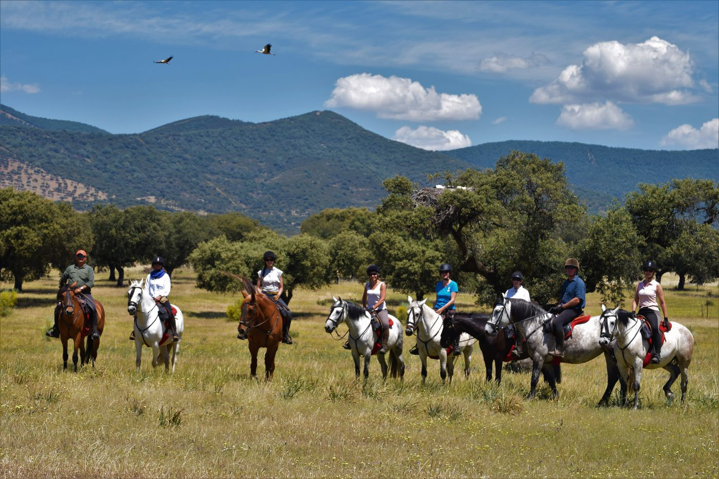 Conquistadors Geopark Ride itinerary.