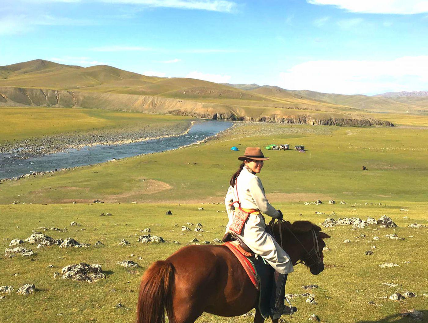 Orkhon Valley Comfort (Yurt) Ride itinerary.