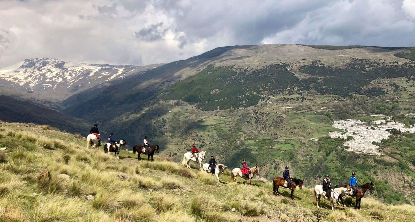 Alpujarra White Village Ride: Four Day Programme itinerary.