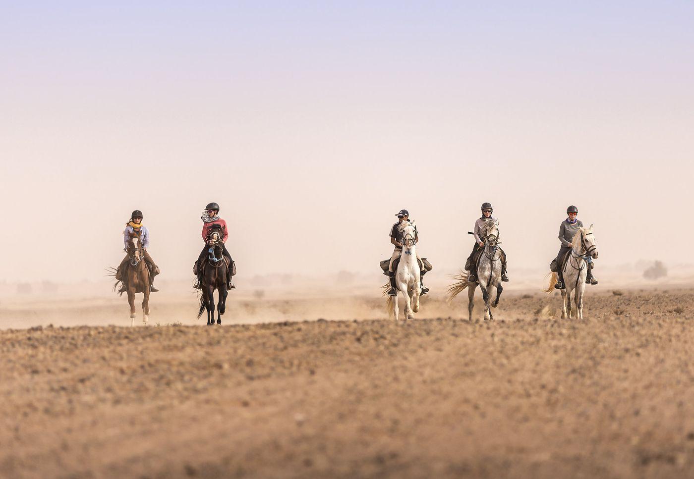 Desert Ride itinerary.