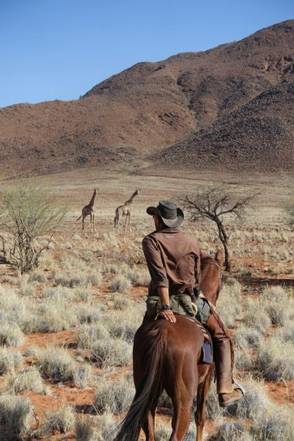 Desert Canyons Trail itinerary.