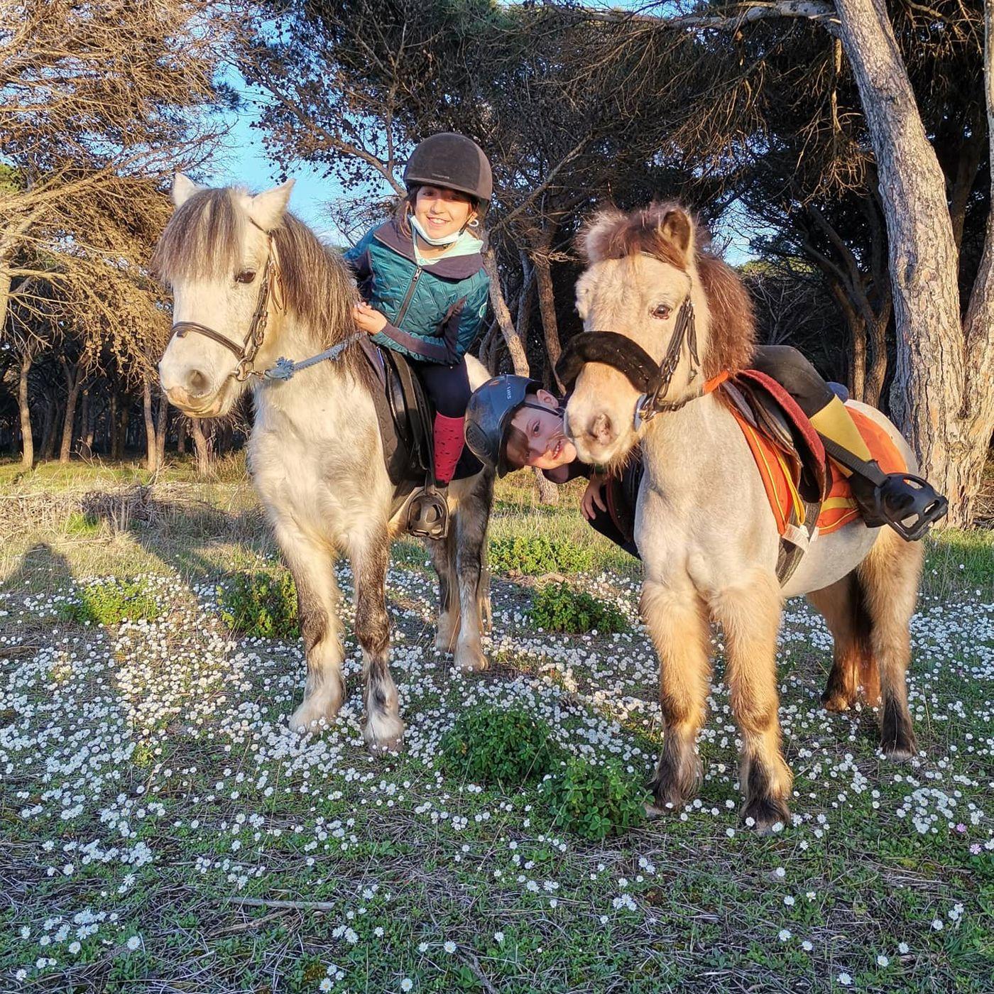 Family Horse Camp itinerary.