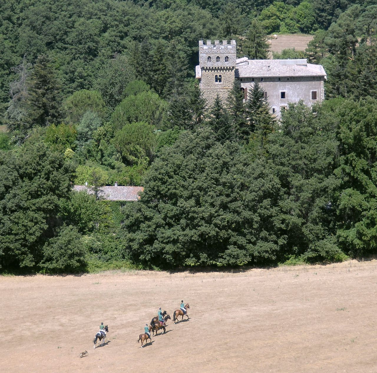 Riding and Cycling itinerary.