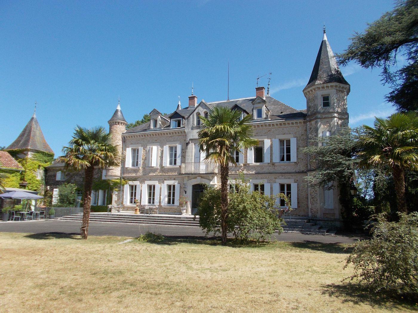Chateau Ride itinerary.