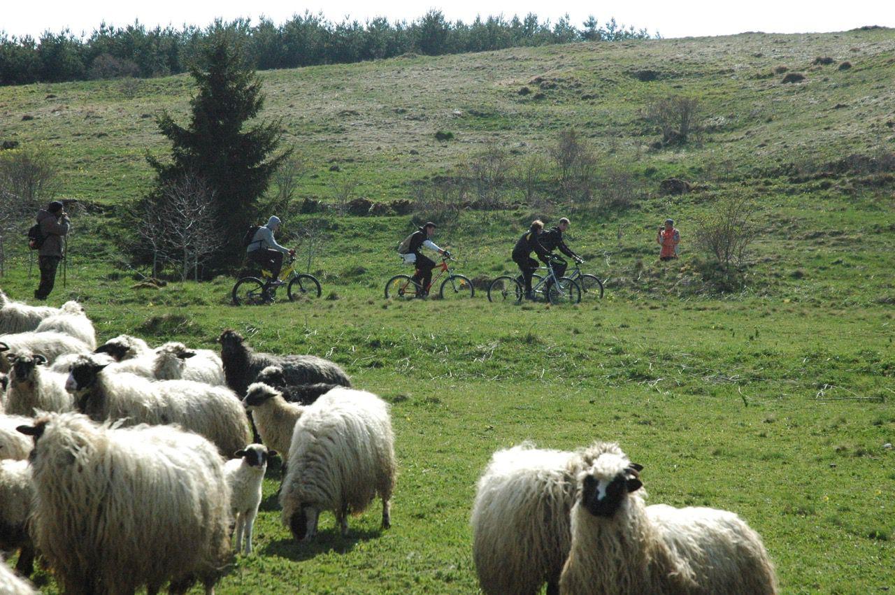 Kupres by Bike itinerary.