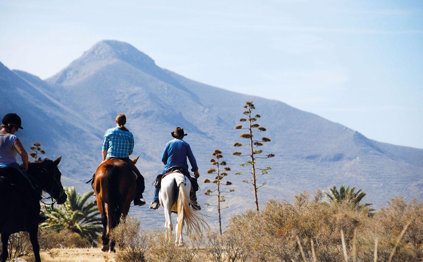 Cabo de Gata Beach Trail itinerary.