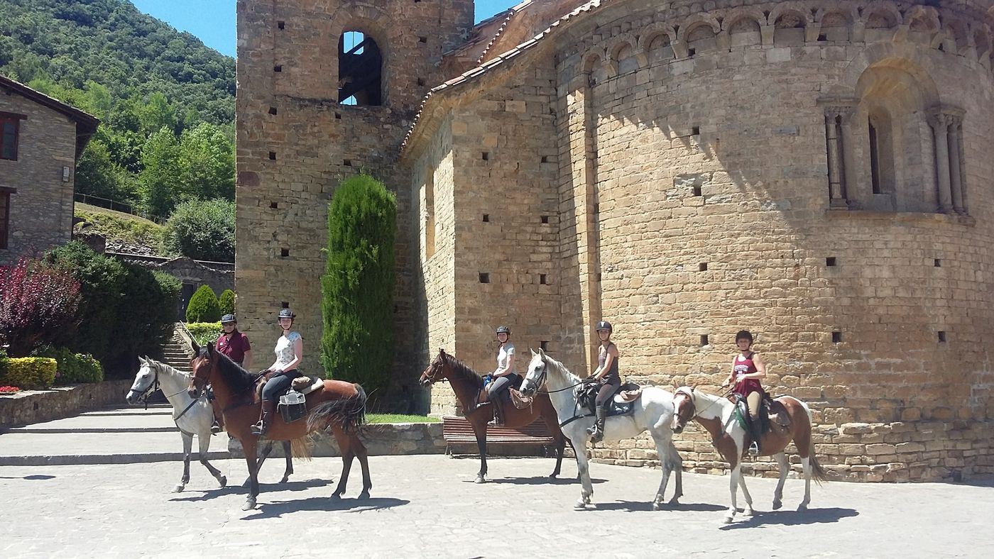 Pyrenees Summer Ride itinerary.