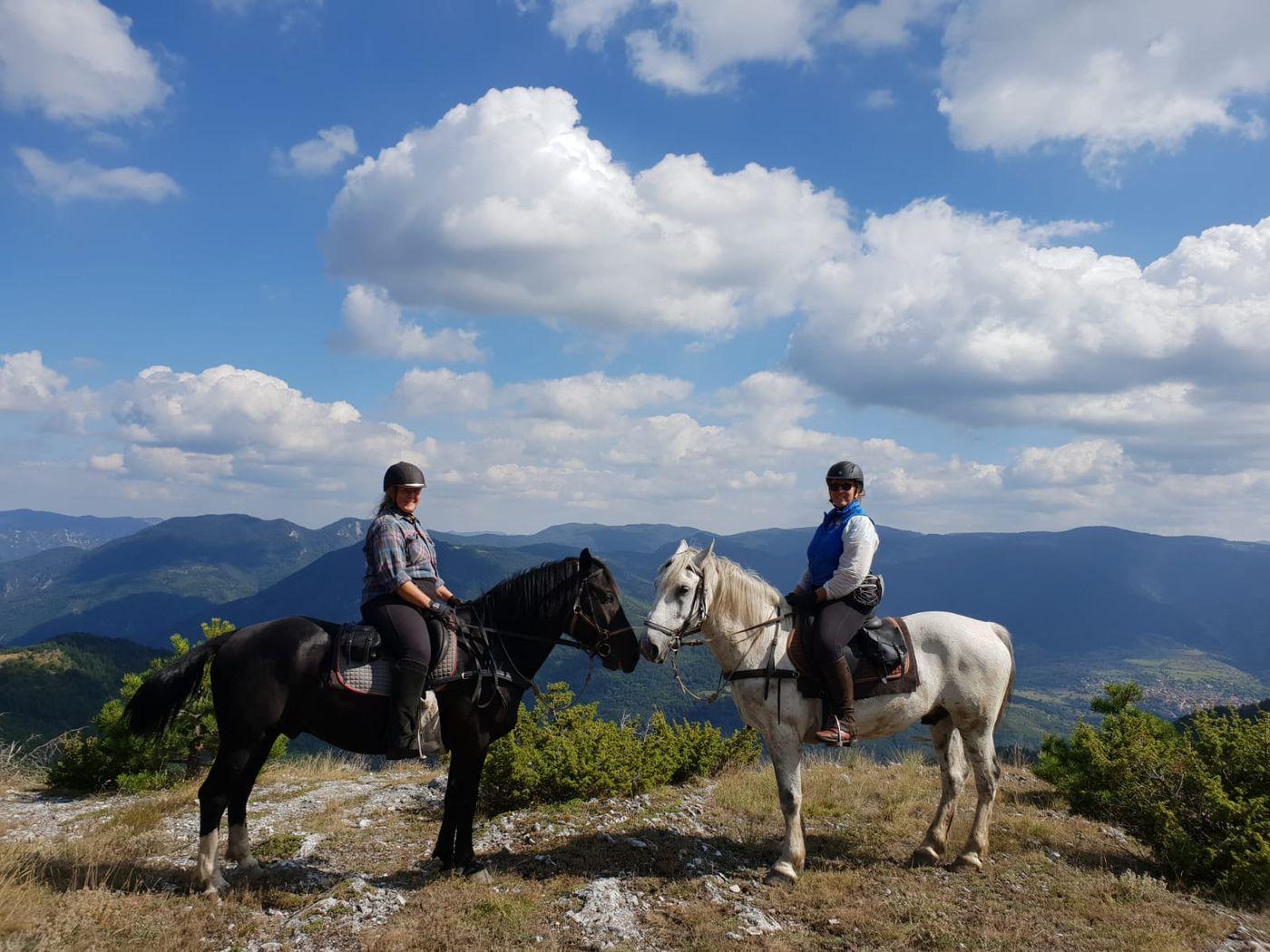 Mursalitsa National Park Trail itinerary.