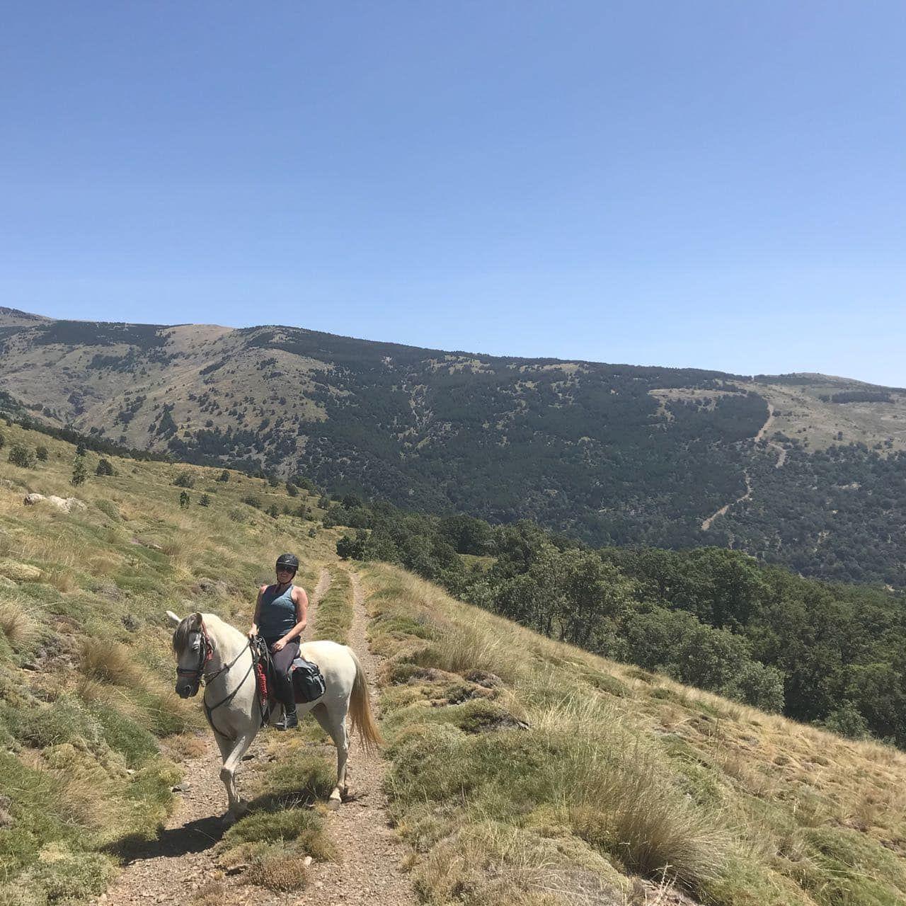 The Alpujarra Ride itinerary.