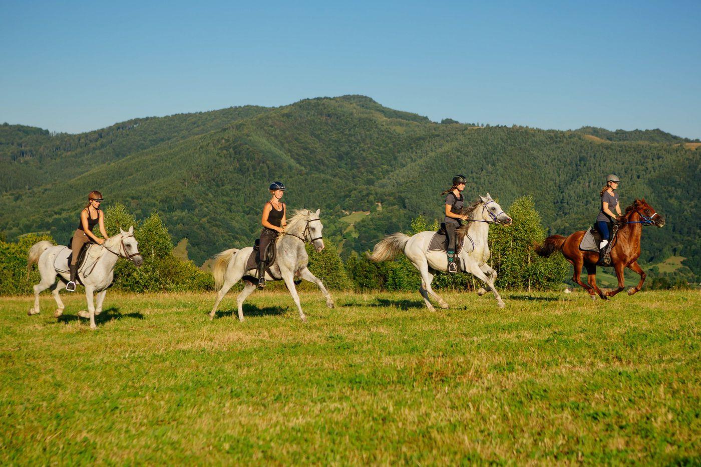 Transylvania Trail itinerary.