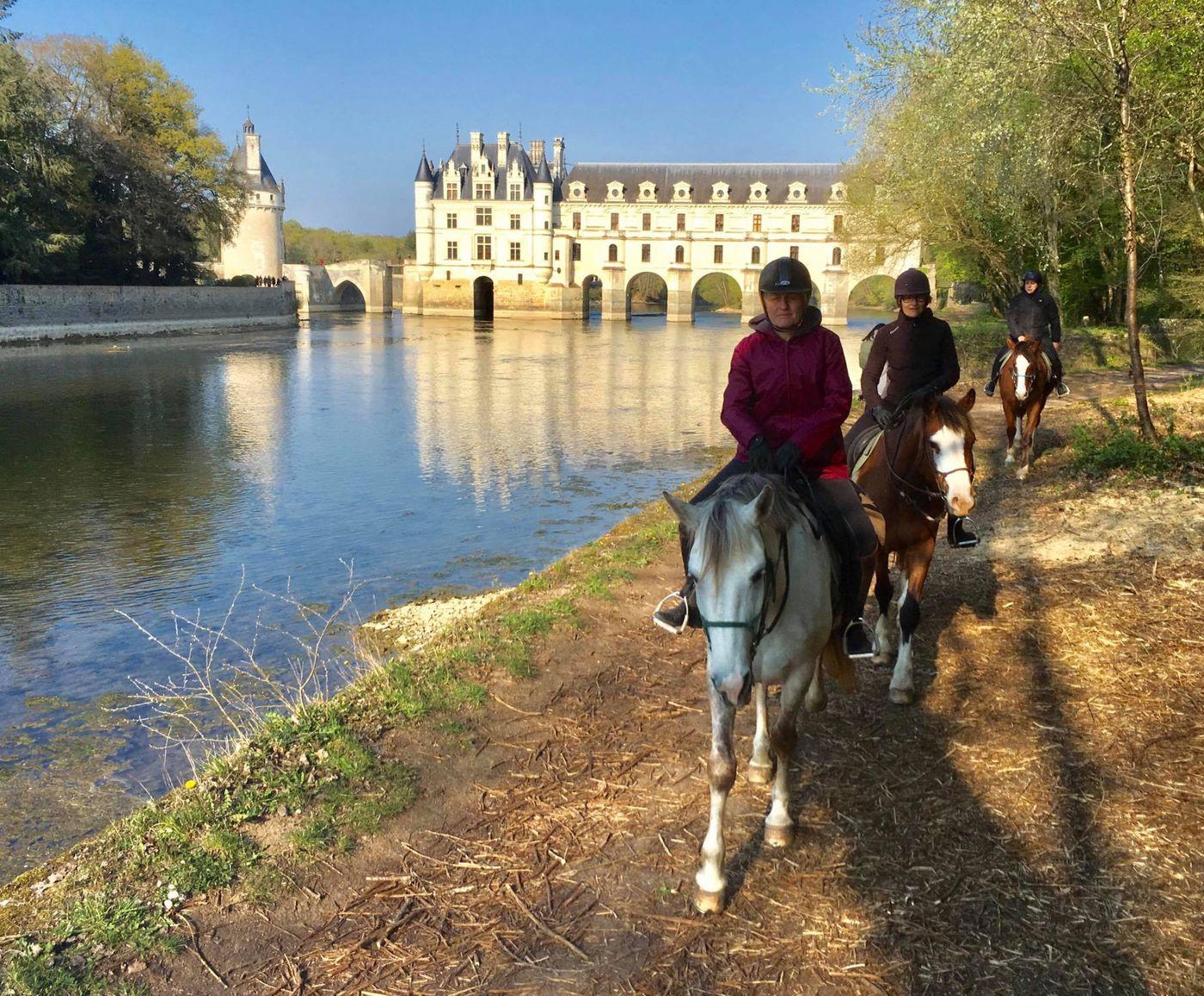 Loire Castle Trail itinerary.