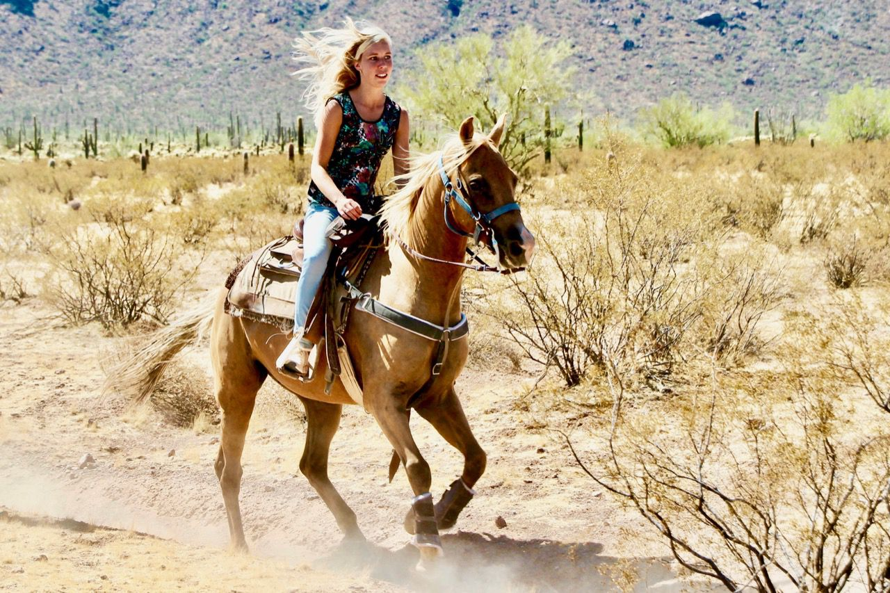 Cactus Cowgirls! itinerary.