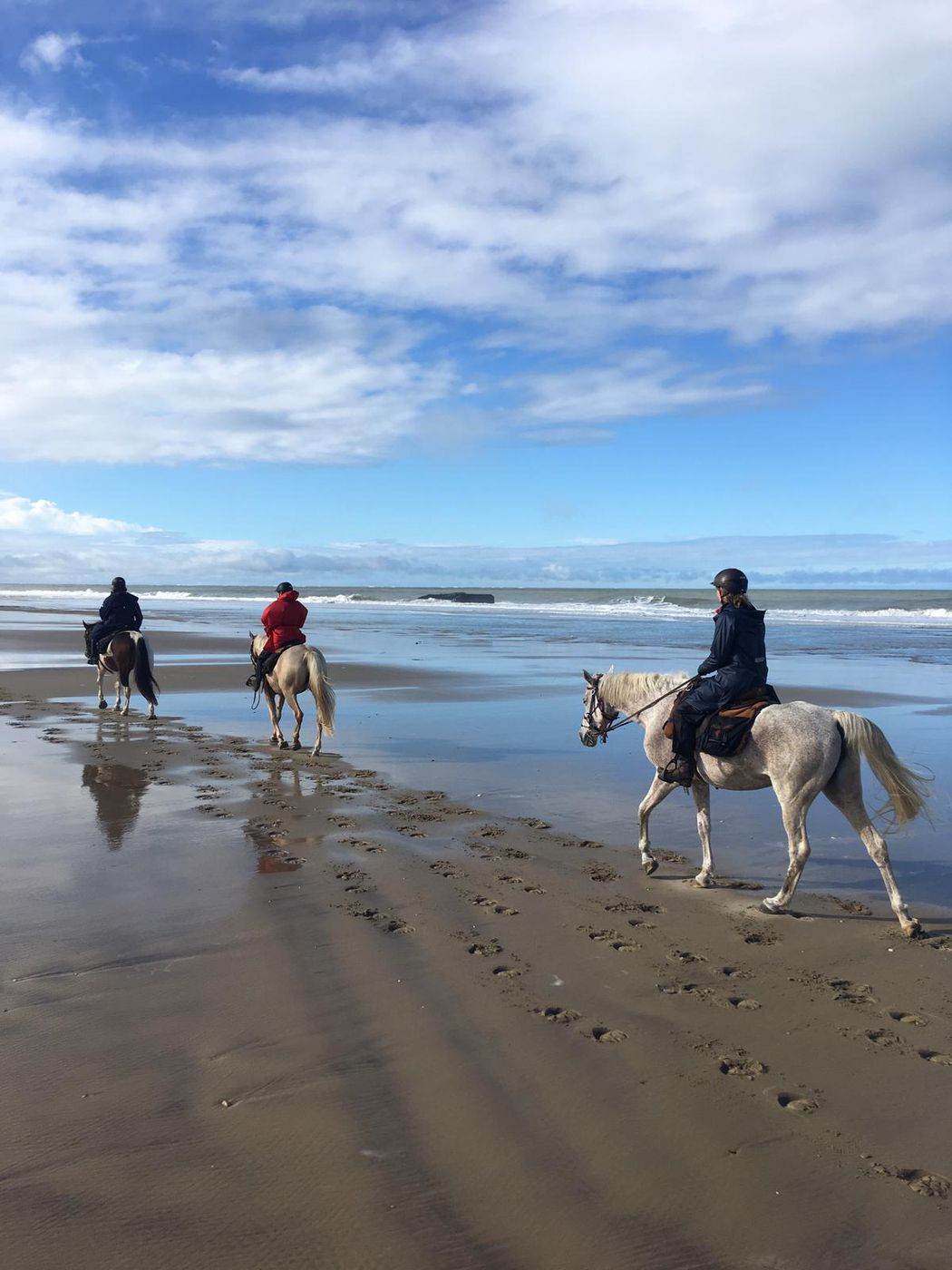 Medoc and Beaches Trail itinerary.