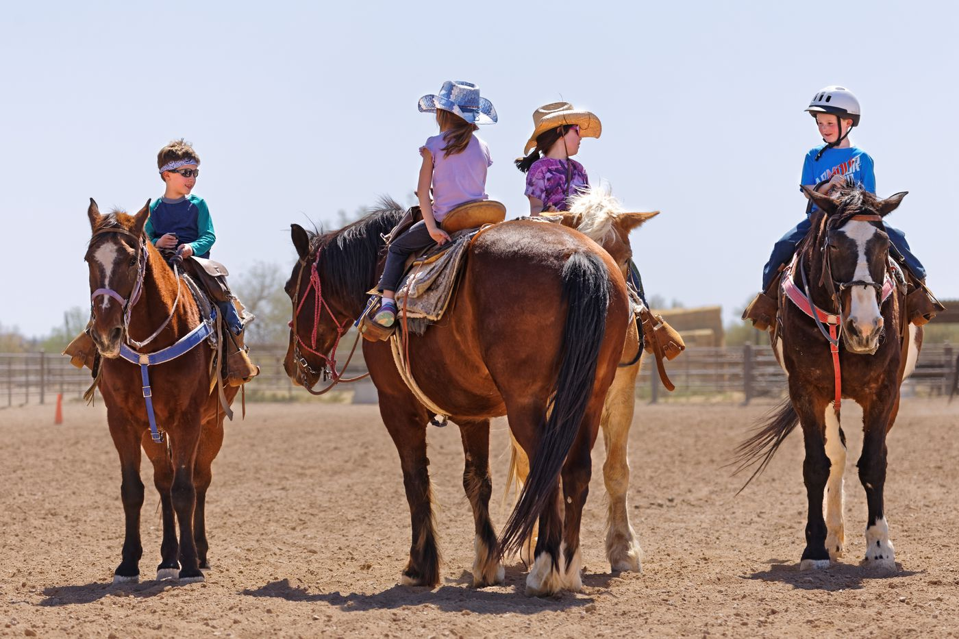 White Stallion Ranch Stay itinerary.
