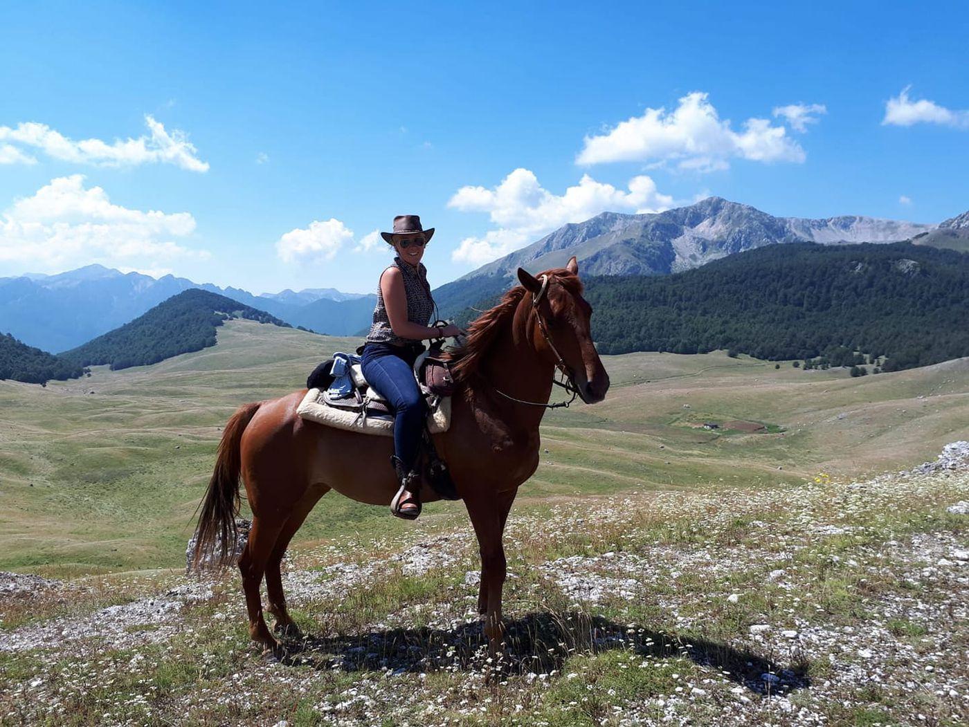Abruzzo Trail itinerary.